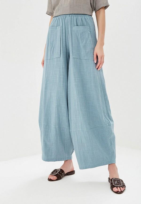 женские повседневные брюки мадам т, синие