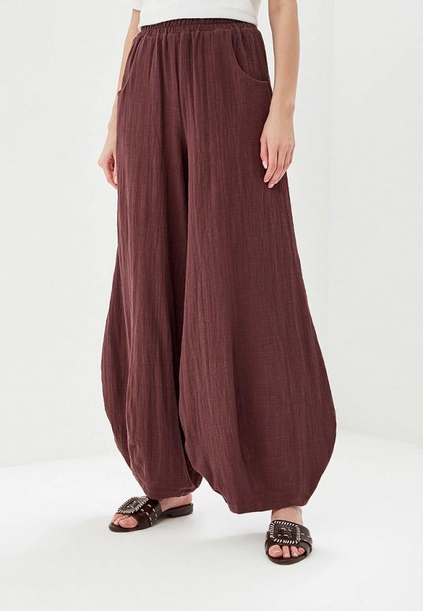 женские повседневные брюки мадам т, фиолетовые