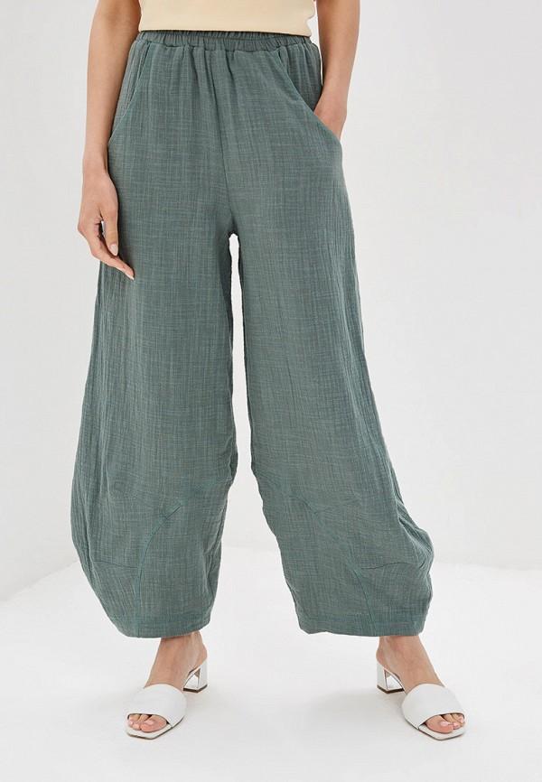 женские повседневные брюки мадам т, хаки