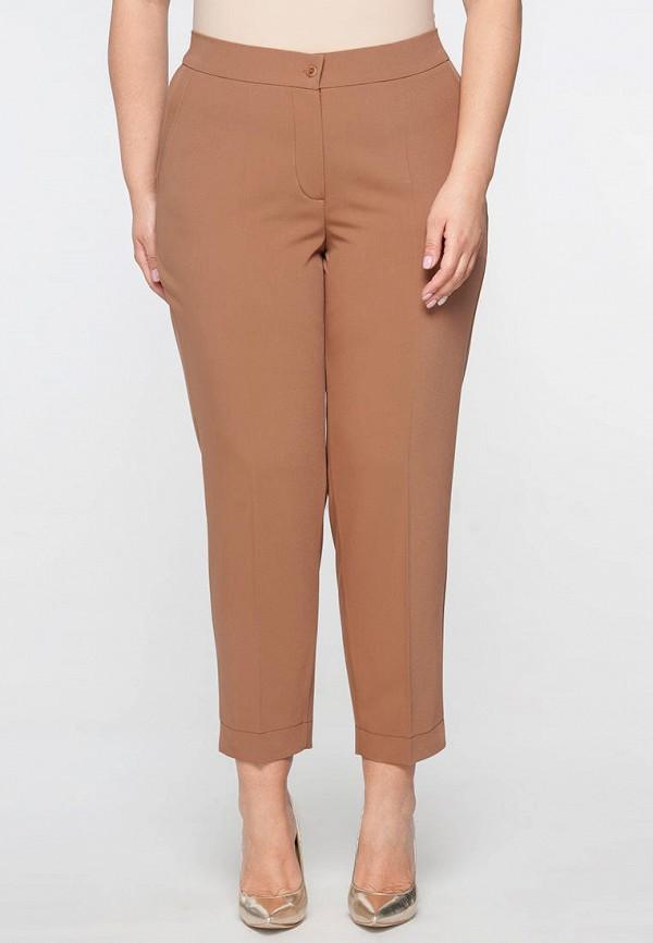 женские брюки limonti, коричневые
