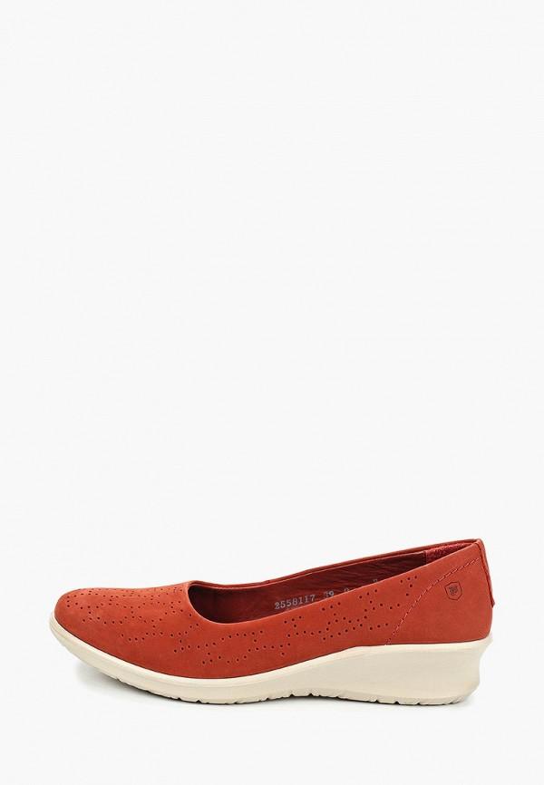 женские туфли woods by woodland, красные