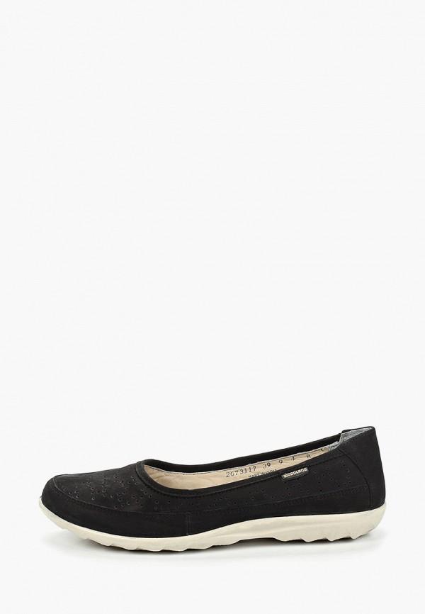 женские туфли woodland, черные