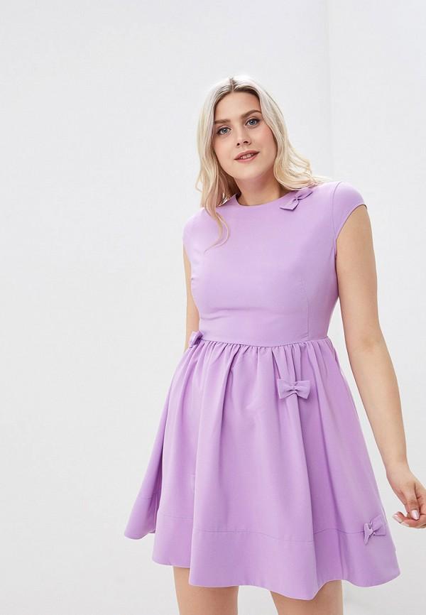 женское повседневные платье gold chic chili, фиолетовое