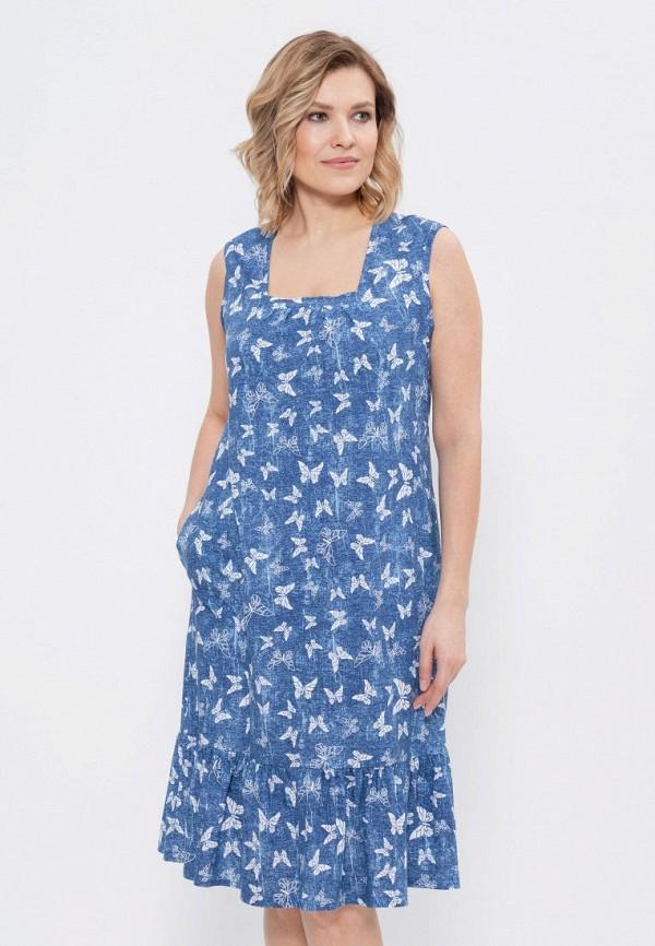 женское платье cleo home, синее