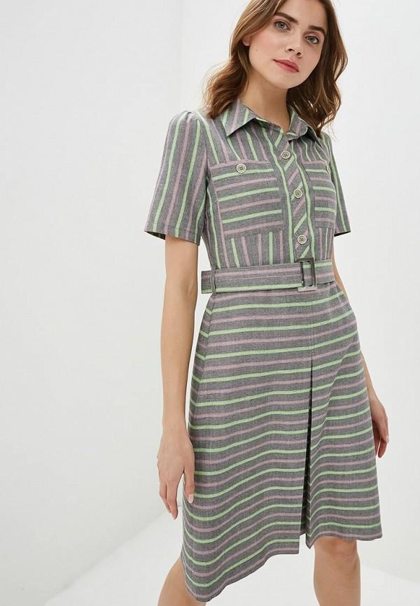 женское повседневные платье gregory, серое