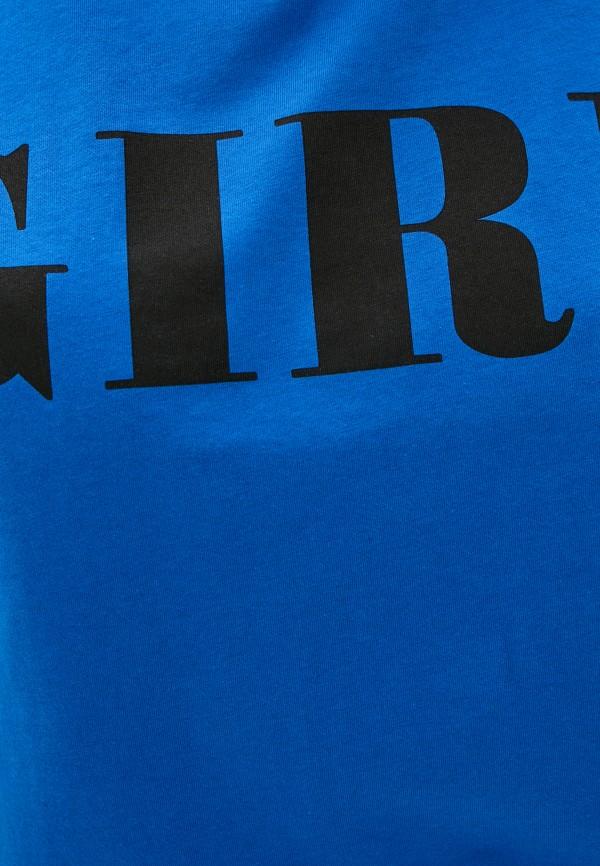 Футболка Whitney цвет синий  Фото 4
