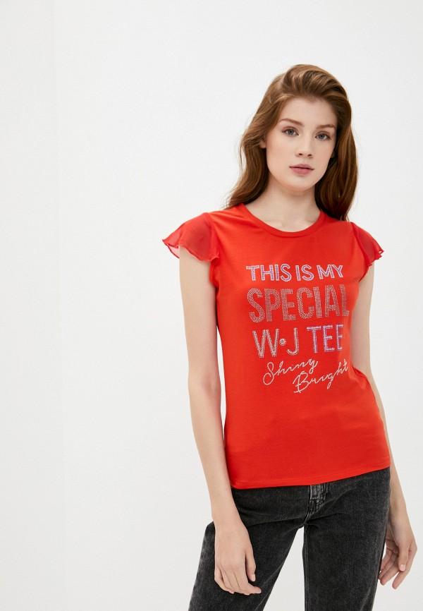 Футболка Whitney цвет красный