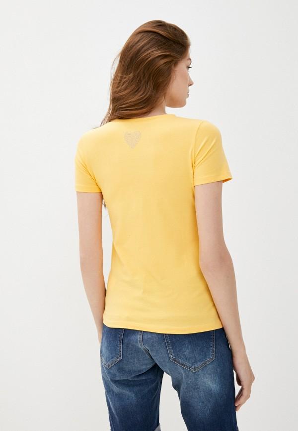 Футболка Whitney цвет желтый  Фото 3