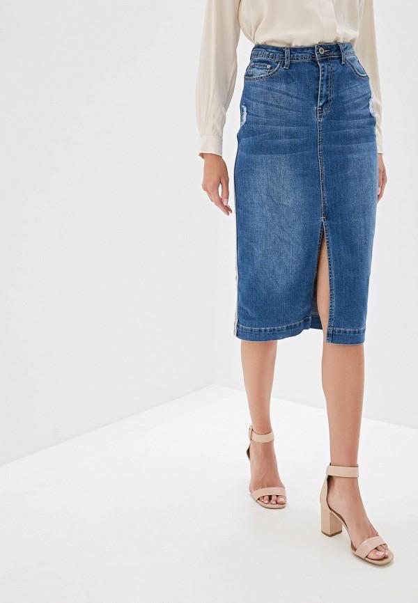 все цены на Юбка джинсовая Vilatte Vilatte MP002XW13265 онлайн