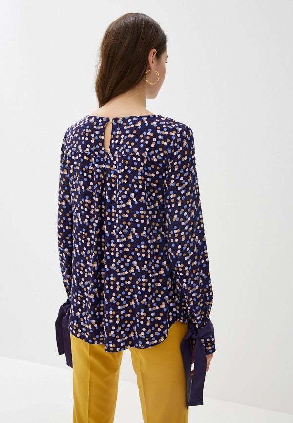 Блуза Vilatte цвет синий  Фото 3