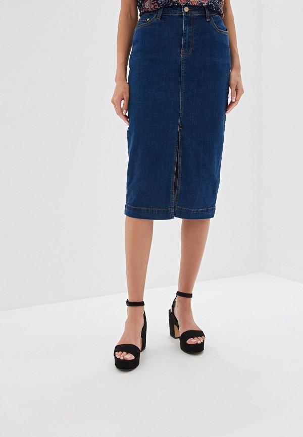 все цены на Юбка джинсовая Vilatte Vilatte MP002XW1326O онлайн
