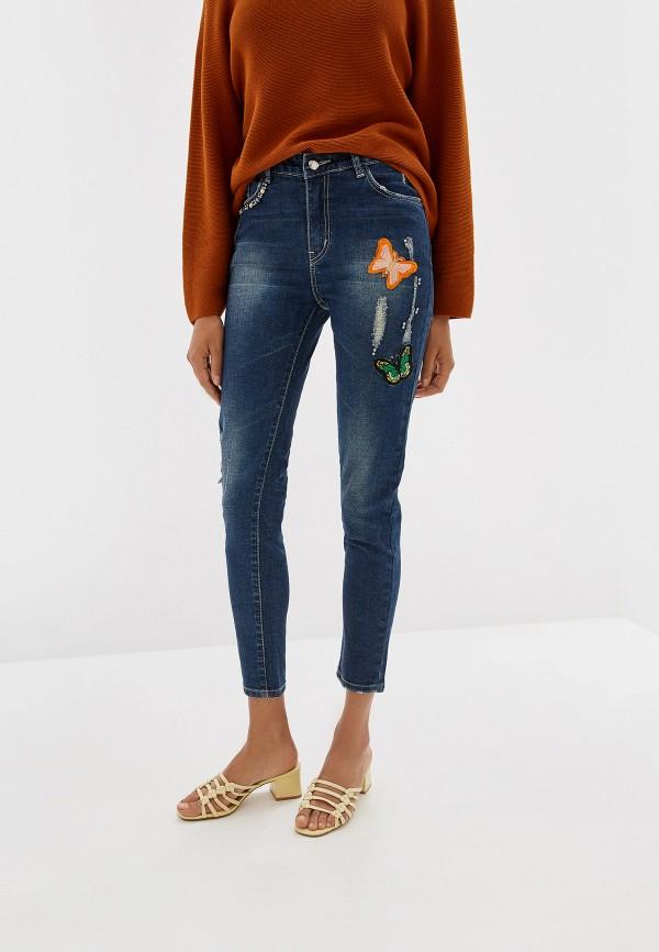 женские джинсы almatrichi, синие