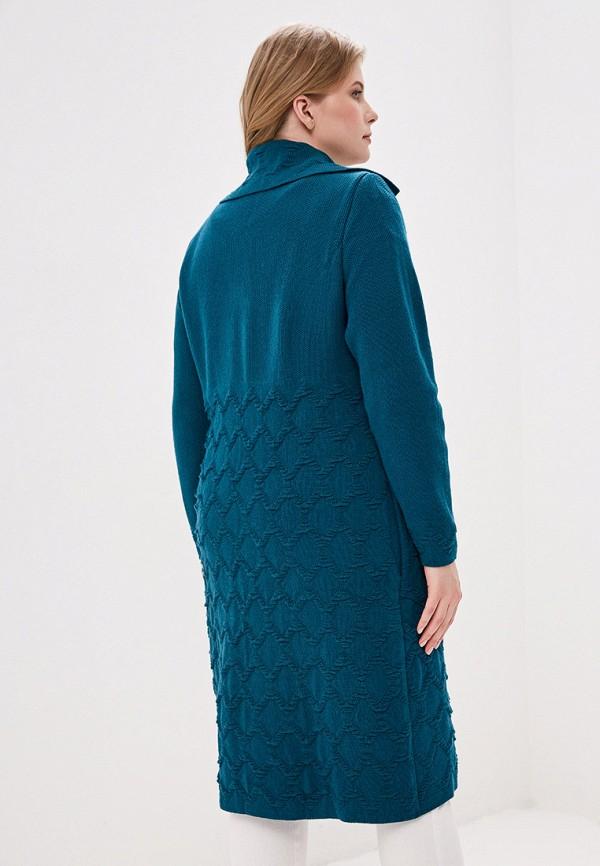 Кардиган Milana Style цвет бирюзовый  Фото 3