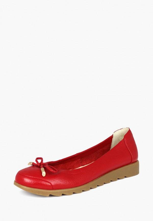 женские балетки blizzarini, красные