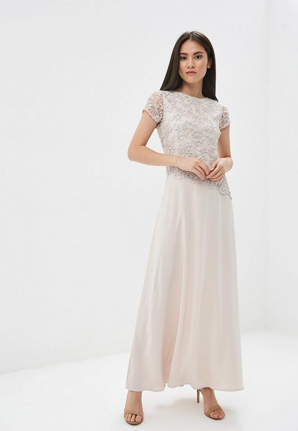 Платье GSFR цвет бежевый