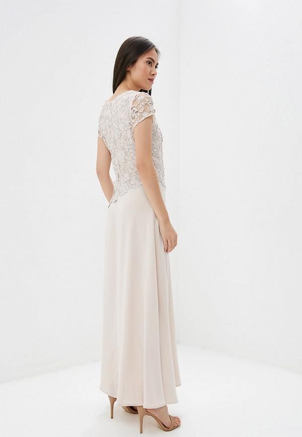 Платье GSFR цвет бежевый  Фото 3
