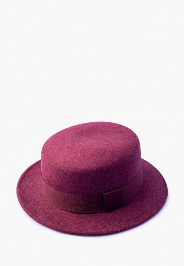 женская шляпа elegant, бордовая