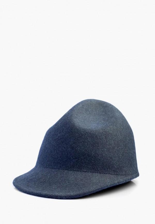 женская кепка elegant, синяя