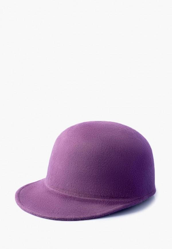 женская кепка elegant, фиолетовая