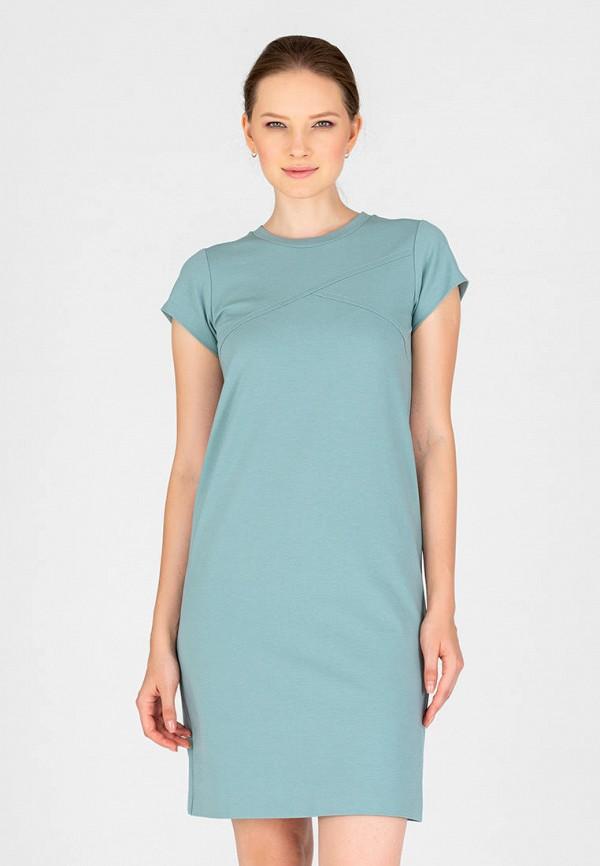 женское платье-футболки eliseeva olesya, зеленое