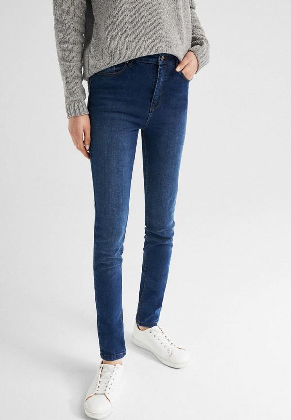 женские джинсы springfield, голубые