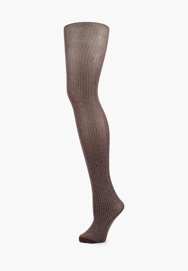 женские колготки allure, коричневые
