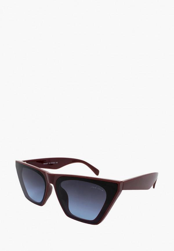 женские солнцезащитные очки gabriela marioni, бордовые