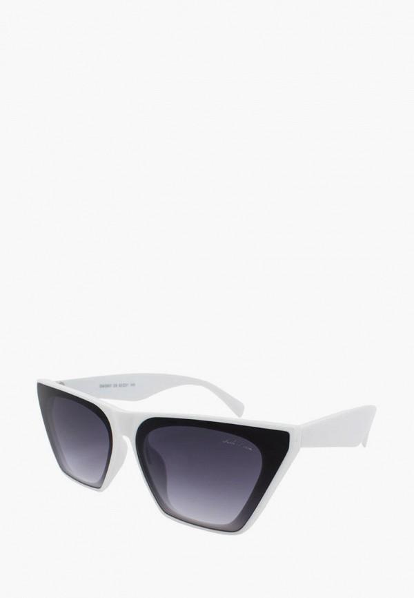 женские солнцезащитные очки gabriela marioni, белые