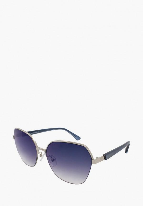 женские солнцезащитные очки furlux, серебряные