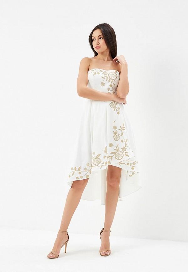 женское повседневные платье cavo, белое