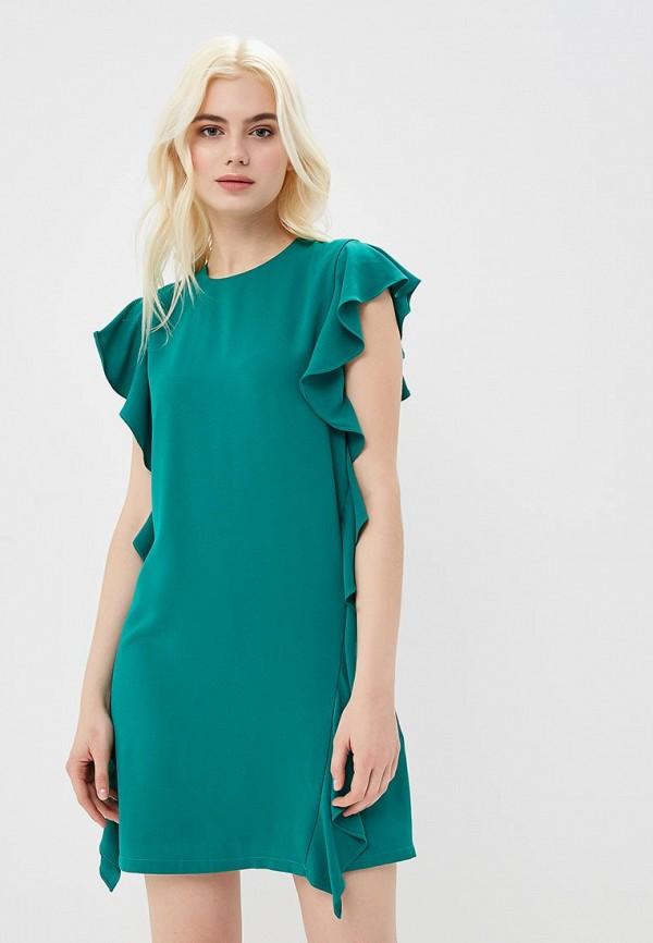 женское повседневные платье cavo, бирюзовое