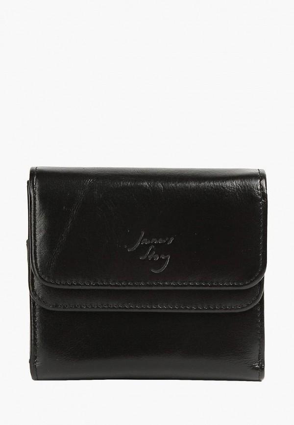 женский кошелёк jane's story, черный