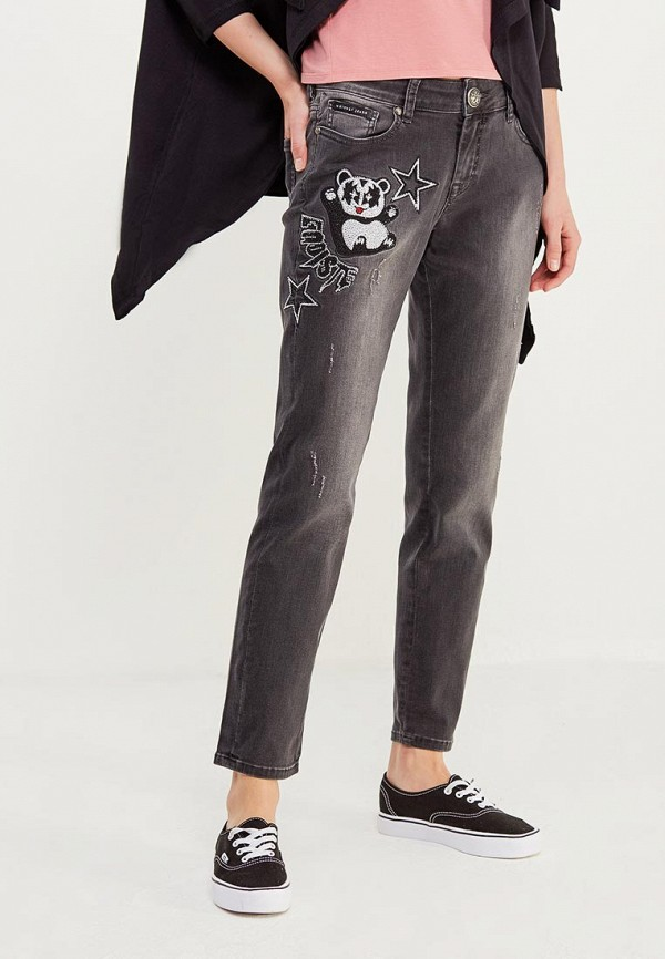 женские джинсы бойфренд whitney, серые