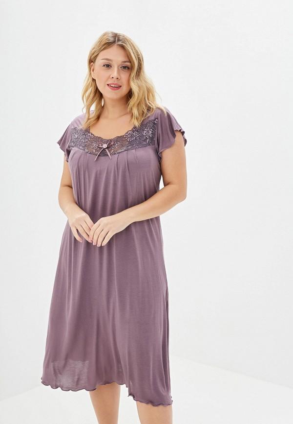 Фото - Сорочку ночная Агапэ фиолетового цвета