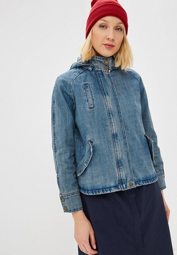 Фото - Куртку джинсовая Baon голубого цвета