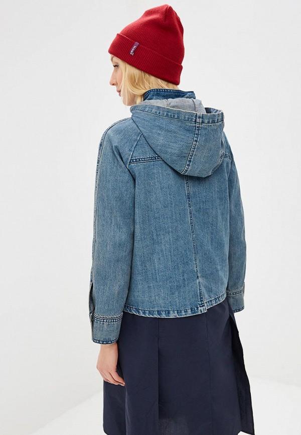 Фото 3 - Куртку джинсовая Baon голубого цвета