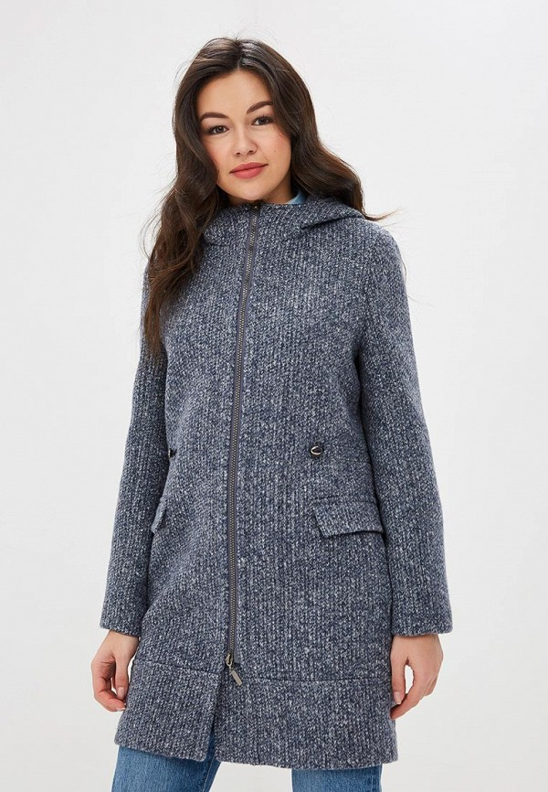 женское пальто ovelli, синее