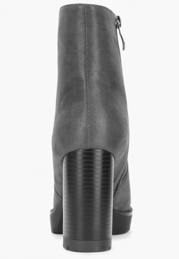 Фото 3 - Женские ботильоны T.Taccardi серого цвета