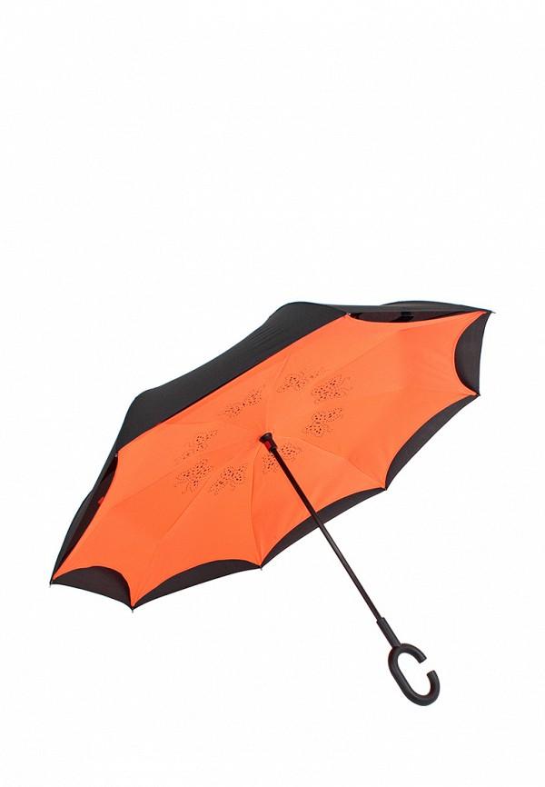 женский складные зонт zemsa, разноцветный