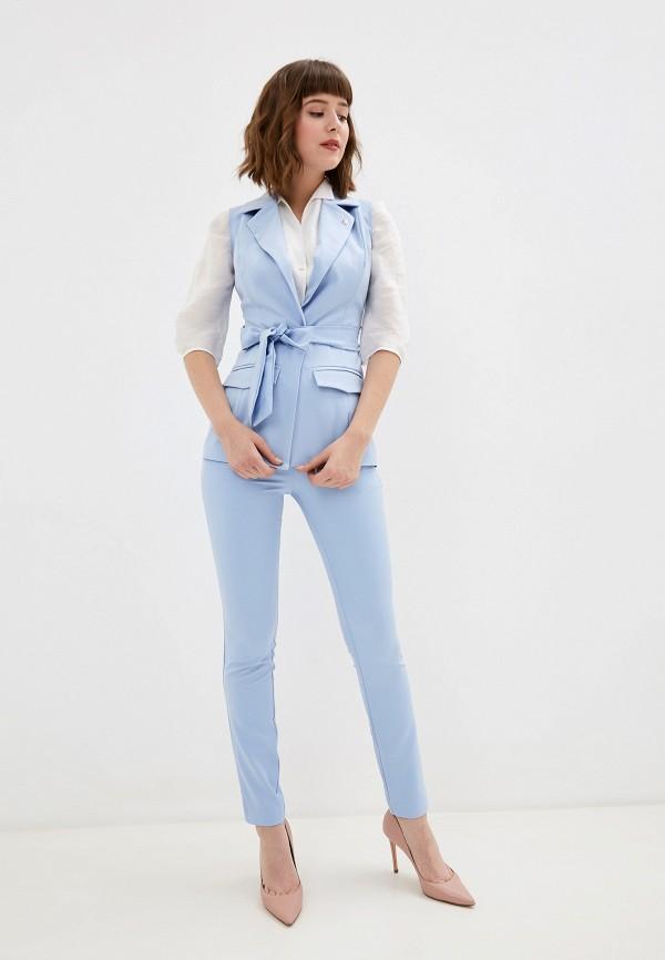 женский костюм avemod, голубой