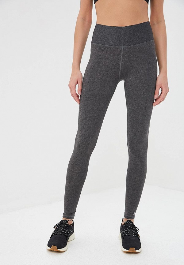 женские спортивные спортивные брюки champion, серые