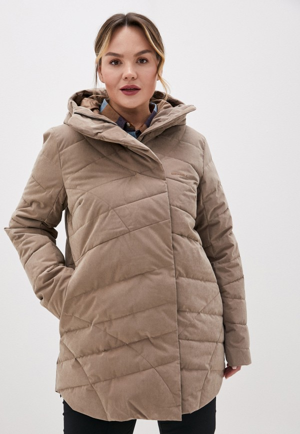 женская спортивные куртка merrell, коричневая
