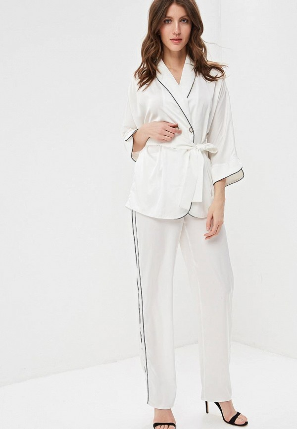 женская пижама anastasya barsukova, белая