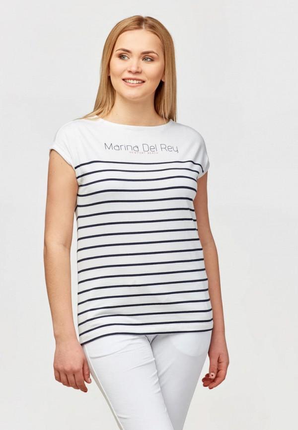 женская футболка campione, белая