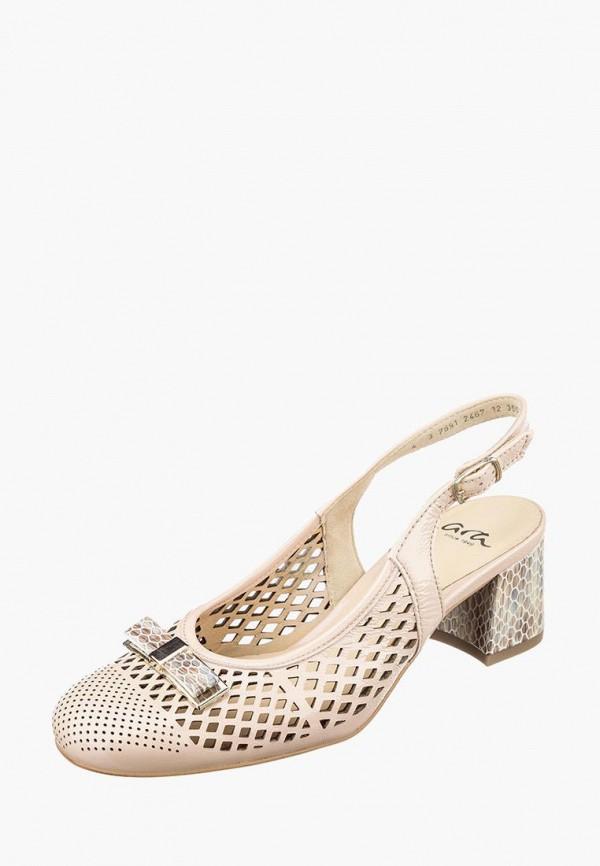 женские туфли ara, бежевые