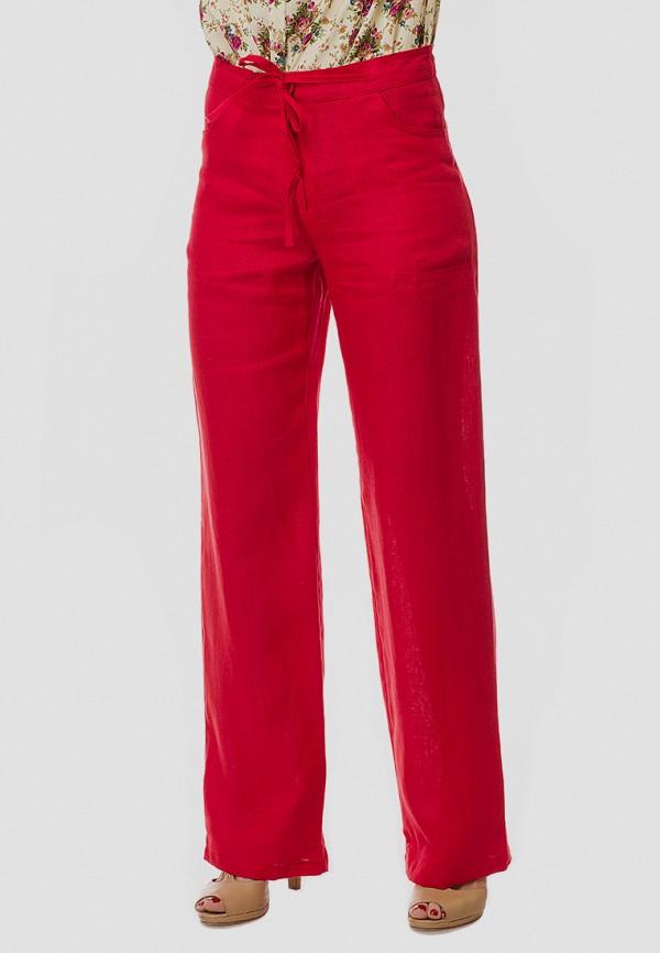 женские брюки клеш gabriela, красные