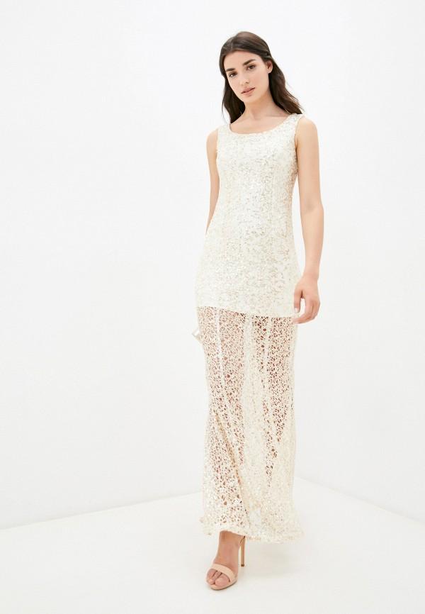 женское вечерние платье pavesa, золотое