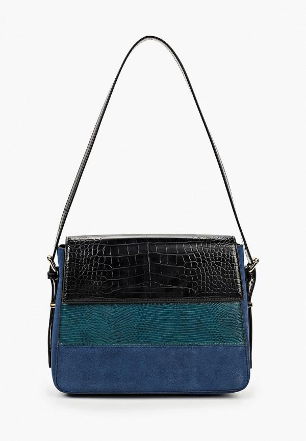 женская сумка с ручками vitacci, синяя