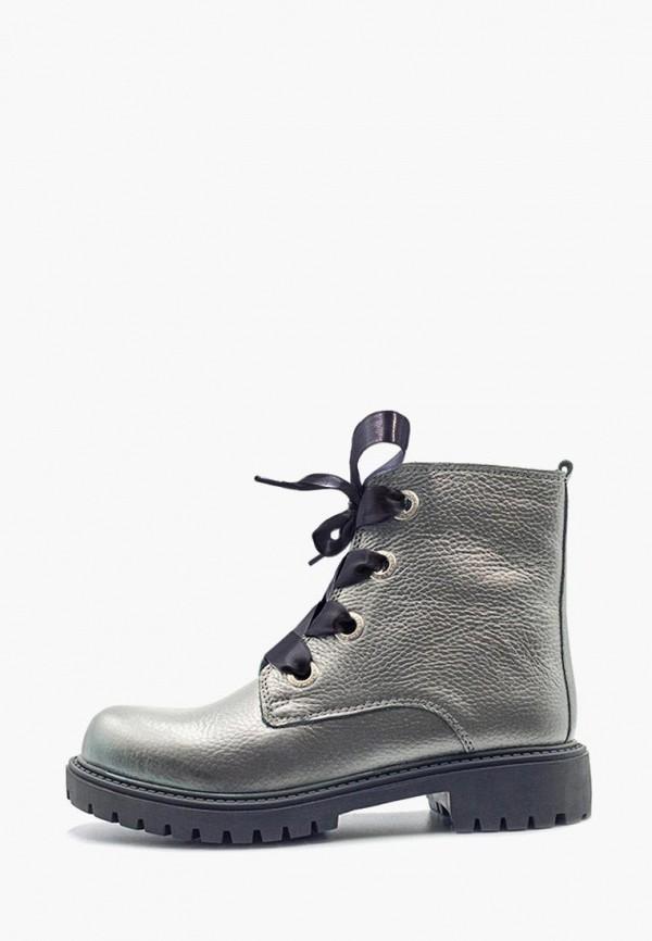 женские ботинки darkwood, серебряные