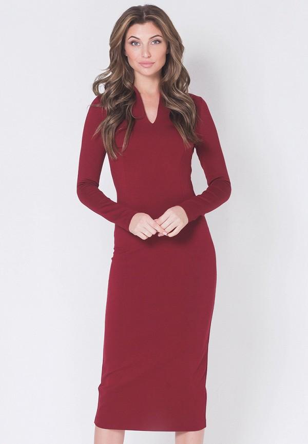 Купить Платье Olga Skazkina, MP002XW13JMR, бордовый, Осень-зима 2017/2018